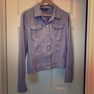Steel blue Jean Jacket Size L